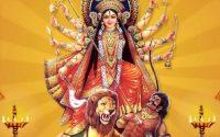 Tune mare chand mund shumbh nishumbh teri jay jay maat bhavani. Durga Maa bhajan lyrics hindi.
