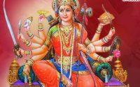 Nishadin teri paavan jyot jagau main mujhako na bisaraana he jagadambe maa Durga Maa bhajan lyrics hindi.