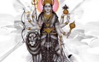 Sanchi kahe tore darshan se hamare jeevan mein aai bahaar. Durga Maa bhajan lyrics hindi.